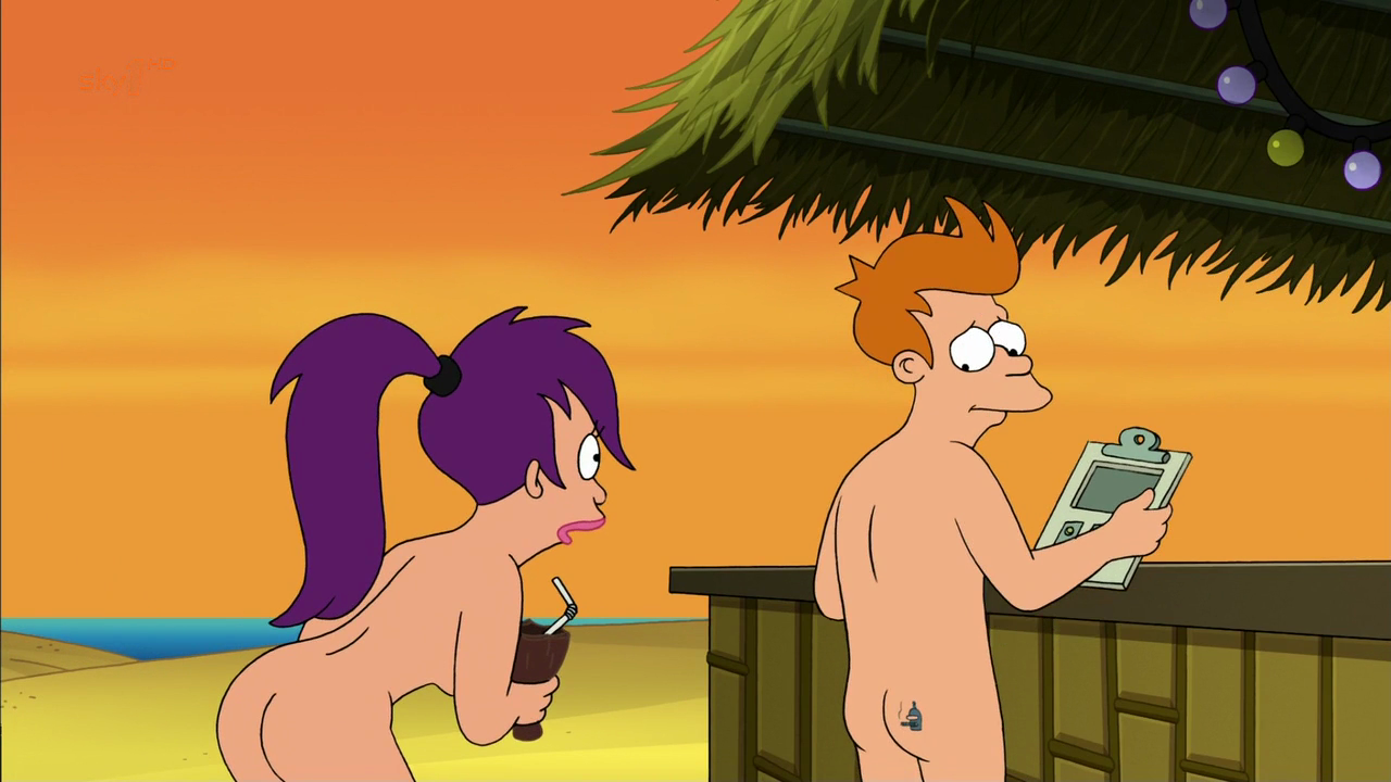 Animated characters naked