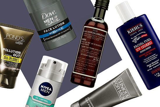 Facial product for men
