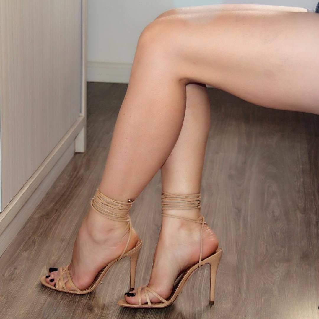 Sexy women naked with sandals